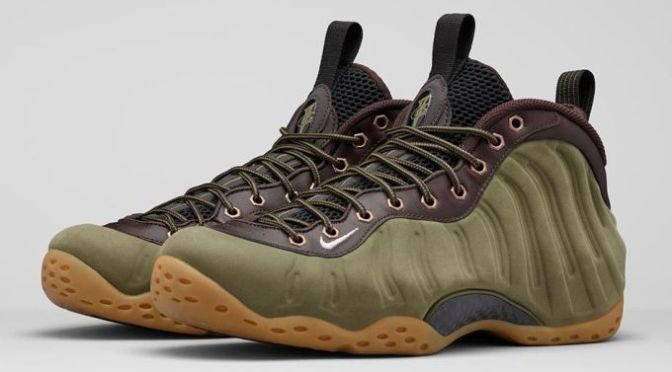 "The Nike Air Foamposite One ""Olive"""