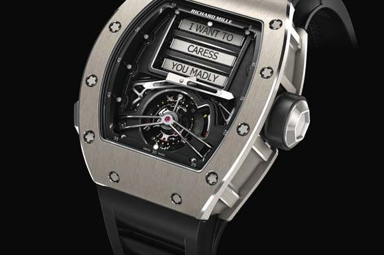 The Mechanical Art of Seduction: Richard Mille RM 69 Erotic Tourbillon
