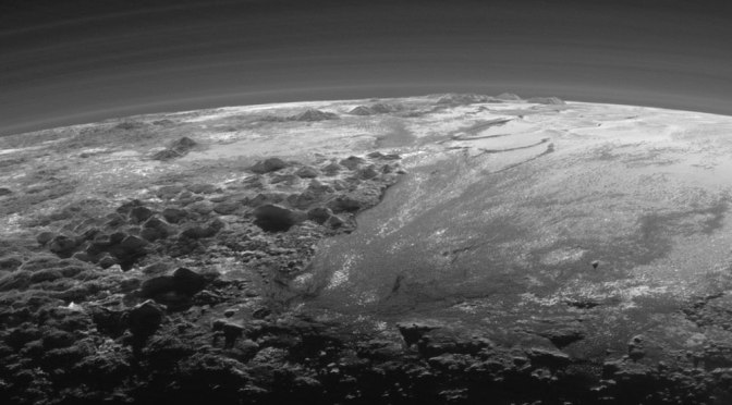 Sunset on Pluto: Breathtaking NASA Photo Shows Mountains, Wispy Atmosphere
