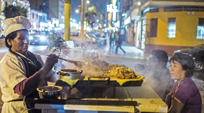 How Food Became Religion in Peru's Capital City