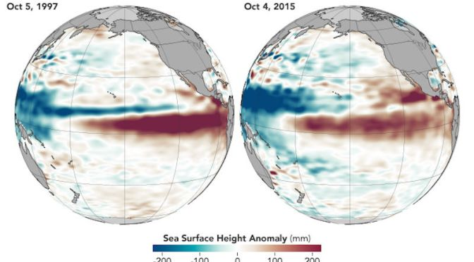 This Year Looks Just Like 1997's Insanely Terrible El Niño