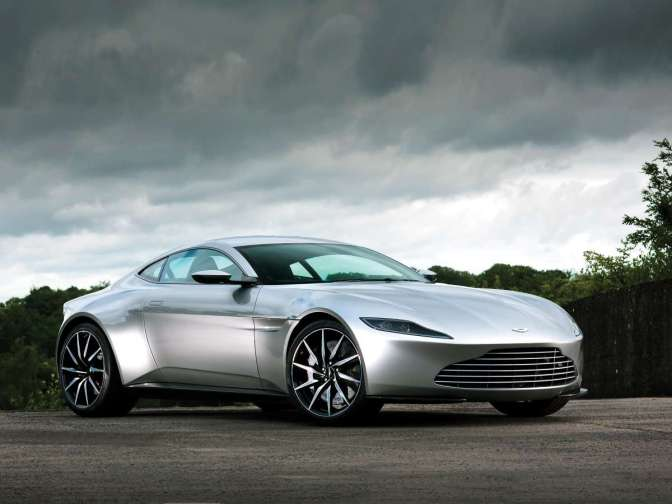 ASTON MARTIN'S DB10 IS A MENACING SUPERCAR