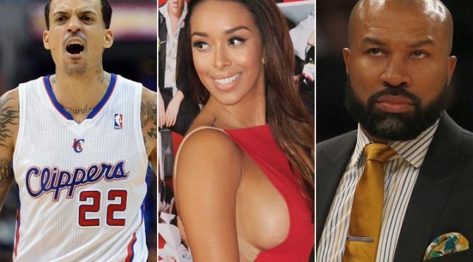 Memphis Grizzlies Player Matt Barnes Scraps With N.Y. Knicks Coach Derek Fisher Over His Estranged Wife Gloria Govan