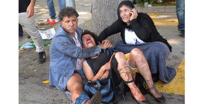 BOMB BLASTS ROCK TURKEY