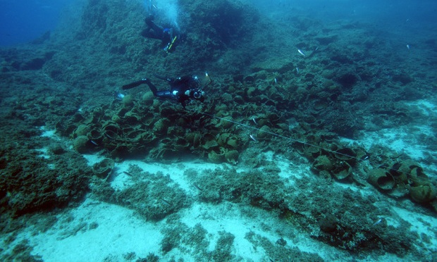 22 Ancient Shipwrecks Discovered Near Greek Island