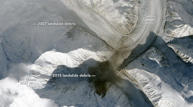 Satellite Images Reveal a Massive 60 Million-Ton Avalanche in Canada