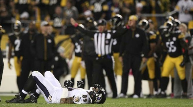 Ravens Wide Receiver Steve Smith Has Four Broken Ribs
