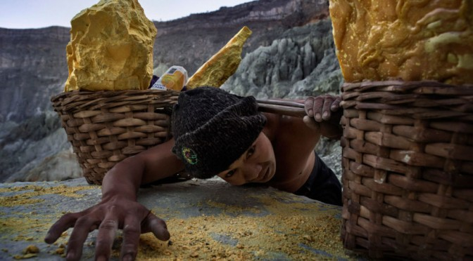 The Struggle and Strain of Mining 'Devil's Gold'