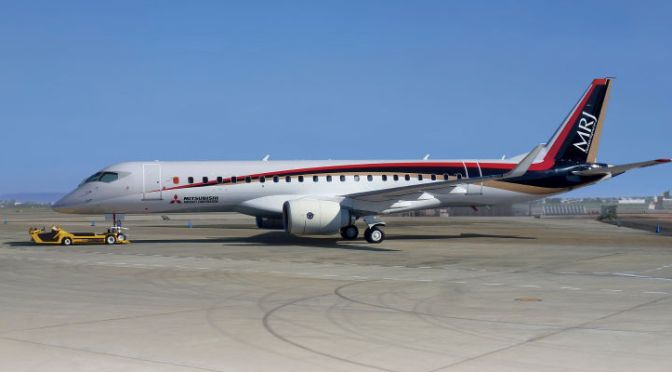 Japan's First Ever Passenger Jet Just Took Its Maiden Flight