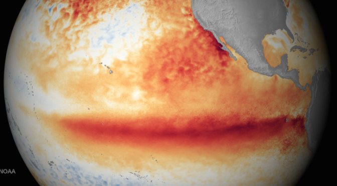This Year's Godzilla El Niño Could Be the Worst Ever Recorded