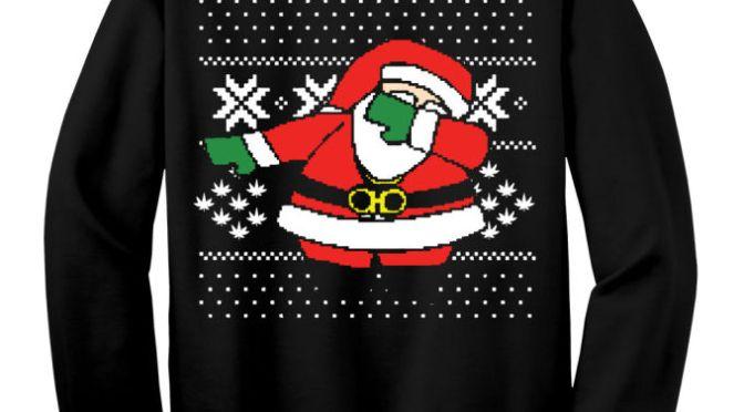 "2 Chainz ""Dabbing Santa"" Ugly Christmas Sweaters"