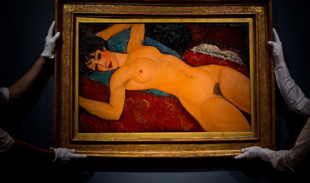 Modigliani's 'Reclining Nude' Sells For $170 Million