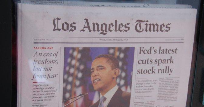 LA Times To Be Sold To Philanthropist Eli Broad, Says Rupert Murdoch