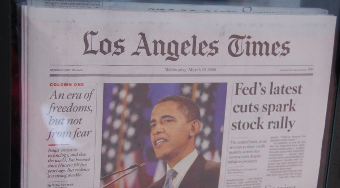 LA Times To Be Sold To Philanthropist Eli Broad, Says Rupert Murdoch