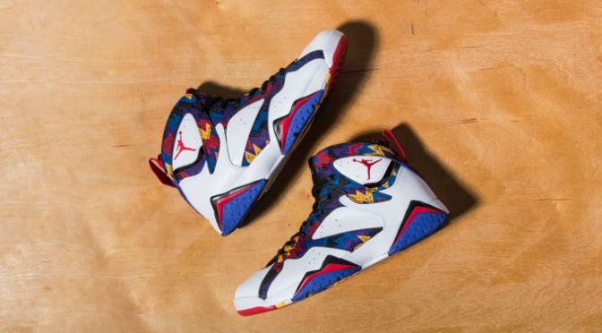 "Air Jordan VII Retro ""Nothing But Net"""
