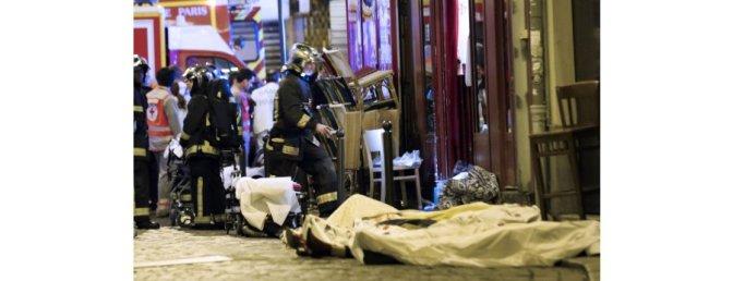 MASS ATTACK PARIS  '100 DEAD' AT CONCERT HALL
