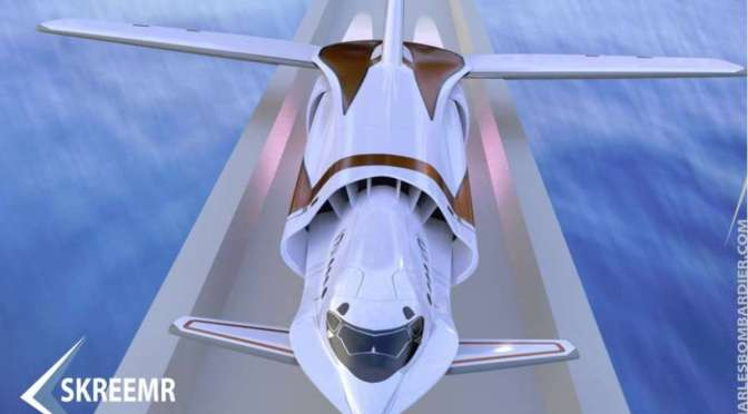 THIS HYPERSONIC PLANE CONCEPT COULD CROSS ATLANTIC IN UNDER AN HOUR
