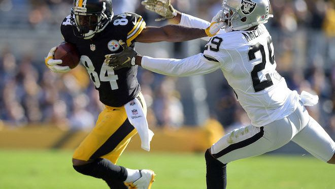 Antonio Brown's 284 Receiving Yards Proves He's the Man
