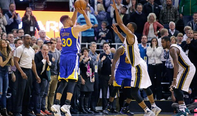 Steph Curry Hits Clutch 3-Pointer To Push Warriors To 19-0