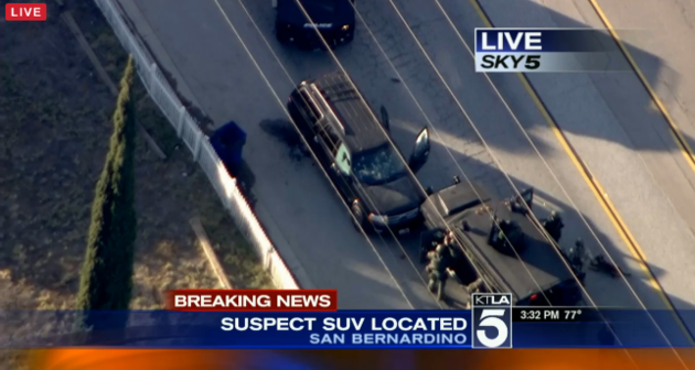MASS SHOOTING IN SOUTHERN CAL…  14 DEAD…  2 SUSPECTS KILLED…