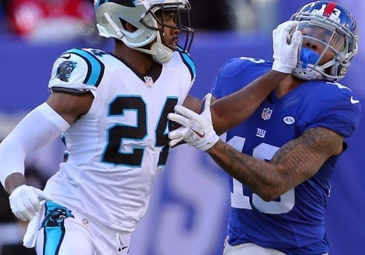 Josh Norman, Panthers hit back on Odell Beckham Jr. for heated play