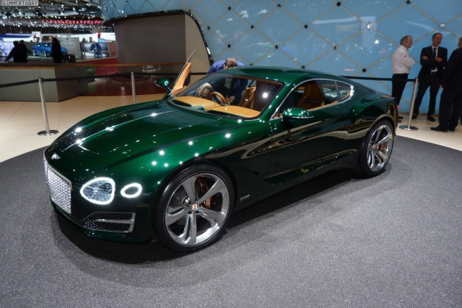 BENTLEY EXP 10 SPEED 6 NEARS APPROVAL, ELECTRIFIED MODELS IN PIPELINE