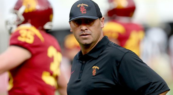 Steve Sarkisian's $30 million lawsuit against USC has merit