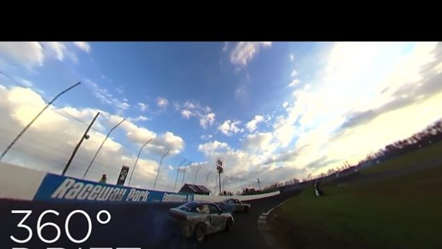 This 360 Video Puts You Behind the Wheel of a Formula Drift Race Car