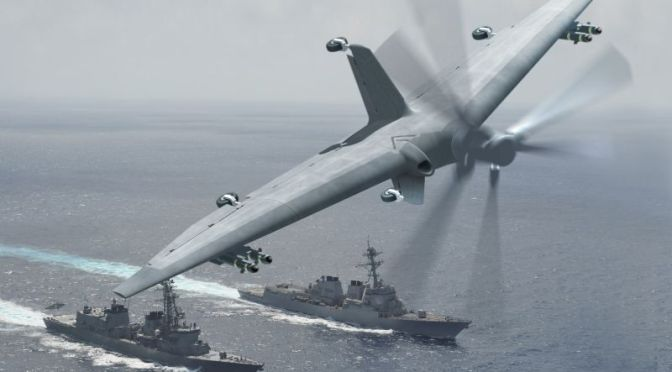 DARPA's Building a New Drone That Turns Small Ships Into an Aircraft Carriers