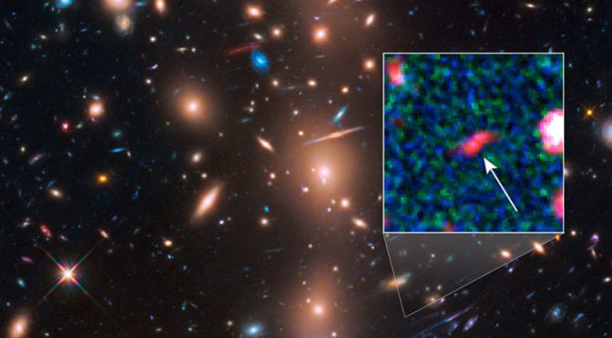 This Distant Galaxy Appeared Just 400 Million Years After the Big Bang