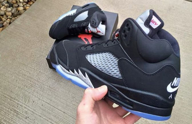 Here's a Closer Look at the 'Black Metallic' Air Jordan V That Releases This Summer