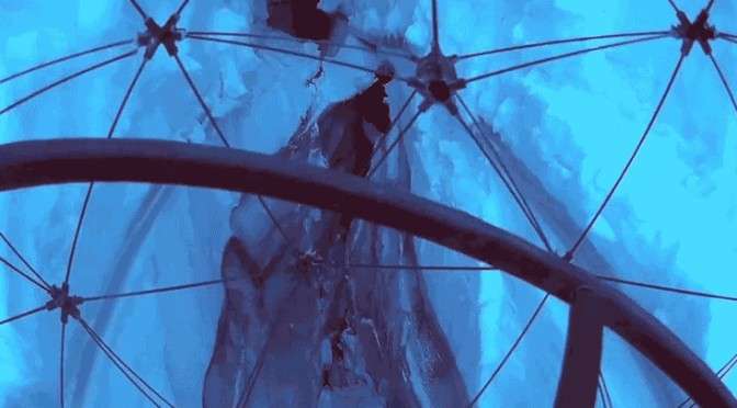 Safely Travel Deep Inside a Glacier Through the Eyes of a Drone