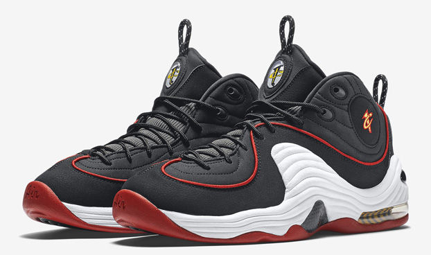 The Nike Air Penny 2 Is Releasing in a Miami Heat Colorway