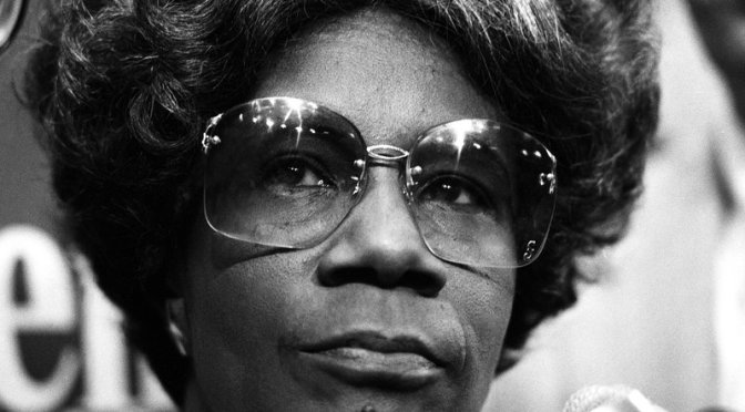44 Years Ago, Shirley Chisholm Became the First Black Woman to Run For President