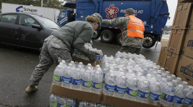 FBI Joins Investigation Of Flint Water Crisis