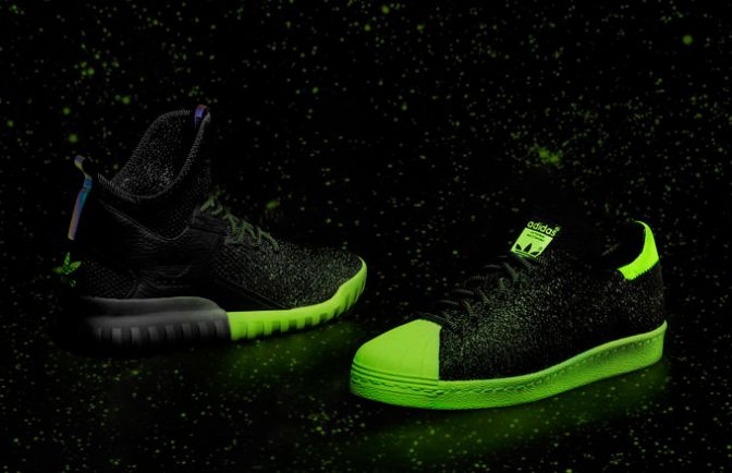 adidas Put Glow in the Dark Primeknit on Two of Its Best Sneakers for All-Star Weekend