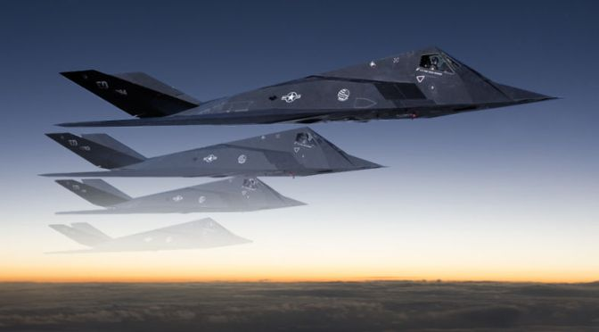 The F-117 Stealth Fighter Program Actually Had A 'Klingon Cloaking Device'