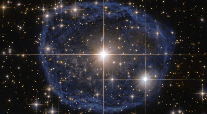 This Massive Star Sure Is Beautiful, Too Bad It's Doomed