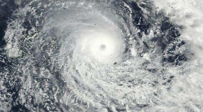 A Devastating Tropical Cyclone Has Made Landfall On Fiji