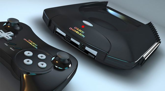 Coleco's Chameleon Is a Retro Gaming Console Every 80s Kid Will Love