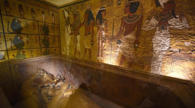 Scans of King Tut's Tomb Reveal Hidden Rooms