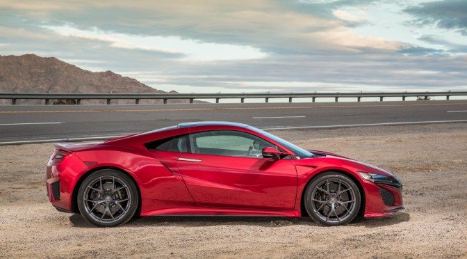 ACURA'S BELOVED NSX RETURNS AS THE BRAINIAC'S SUPERCAR