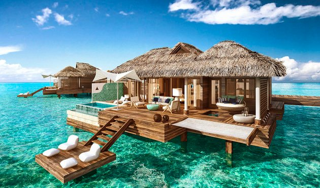Stop What You're Doing And Bask In The Glory Of These Unreal Bungalows