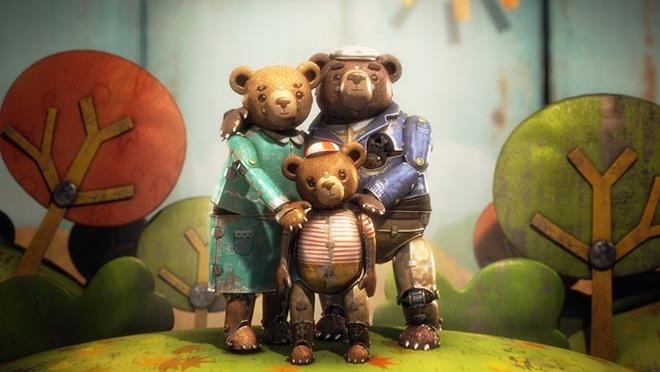 Short Film: Bear Story