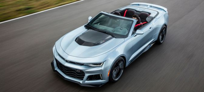 The 2017 Chevrolet Camaro ZL1 Convertible Is Your 640-Horse Sky Chariot