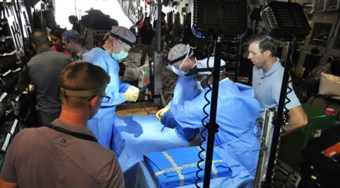 This Flying Operating Room Aboard A C-17 Was Sent To Cuba During President Obama's Visit