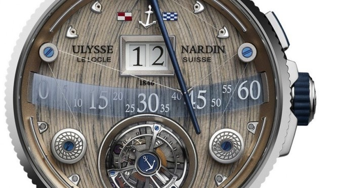 The Ulysse Nardin Grand Deck Marine Tourbillon