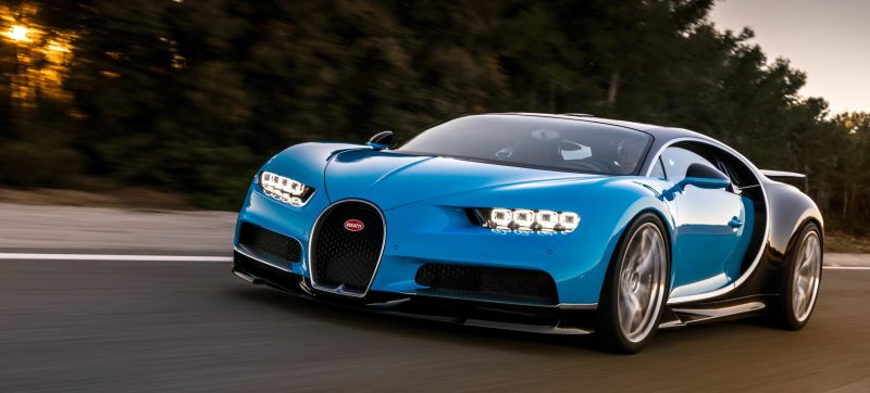 The Incredible Tech In The New Bugatti Chiron, The World's Most ...