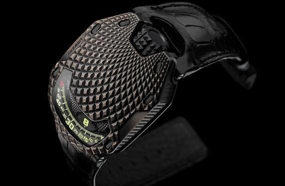 "Scales of Time: Urwerk UR-105 ""T-Rex"""
