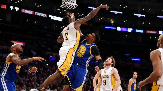 The Lakers Beat the Warriors